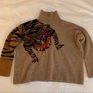 H&M Oversized Chinese Dragon Sweater